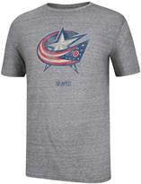Ccm Men's Short-Sleeve Columbus Blue Jackets Bigger Logo T-Shirt