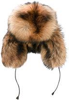 DSQUARED2 ski trapper hat - men - Racoon Fur/Viscose - S