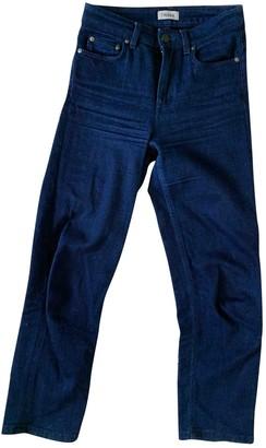 Filippa K Blue Cotton Jeans for Women