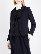 Y's Ys Double-fronted wool-blend jacket