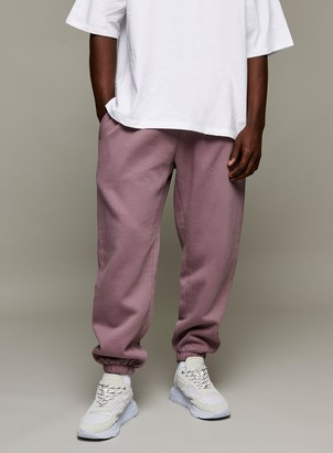 Topman Lilac Wash Oversized Joggers