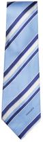 Versace Diagonal Striped Silk Tie