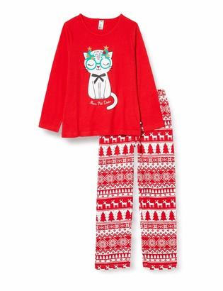 mon P'tit Dodo Girl's Bf.holy.py2 Pajama Set