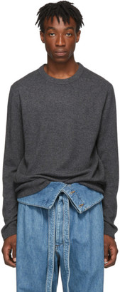 Wooyoungmi Grey Cashmere Crewneck Sweater