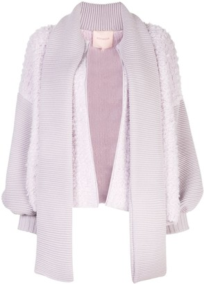 Roksanda Zipped-Up Knit Cardigan