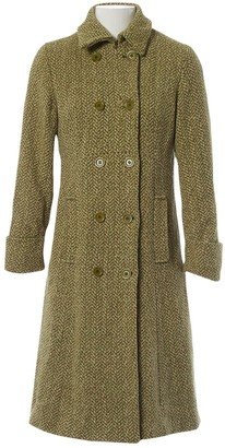 Max Mara Weekend Green Wool Coat for Women