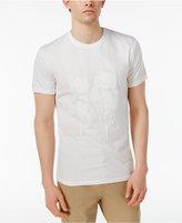 William Rast Men's Skull Of Drips Graphic-Print T-Shirt