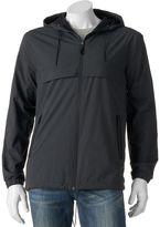 Marc Anthony Men's Slim-Fit Luxury+ Hooded Rain Jacket