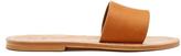 K. Jacques Anacapri leather slides