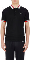 Givenchy Men's Contrast-Detail Cotton Polo Shirt