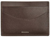 Skagen &Torben& Leather Card Case