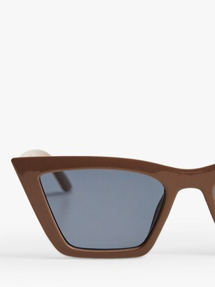 MANGO Modern Women's Cat's Eye Sunglasses
