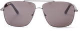 Salvatore Ferragamo Rectangle-frame sunglasses