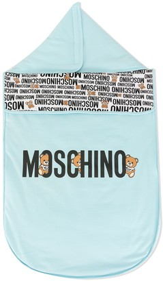 MOSCHINO BAMBINO Logo Sleeping Bag