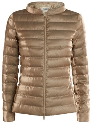 Herno Organza Quilted Jacket