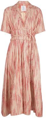 Rosie Assoulin striped shirt dress