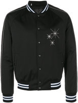 Lanvin embroidered bomber jacket - men - Cotton/Acrylic/Polyester/Wool - 46