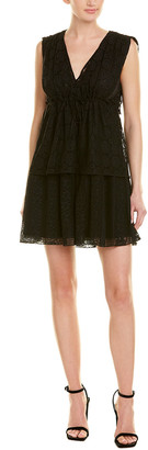 Anna Sui Midnight Medley Shift Dress