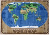 Fun Rugs Fun RugsTM Supreme World Map Rug