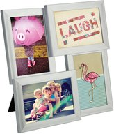 Umbra Pane Four-Opening Collage Picture Frame - Nickel
