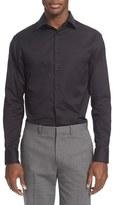 Armani Collezioni Men's Slim Fit Twill Dress Shirt