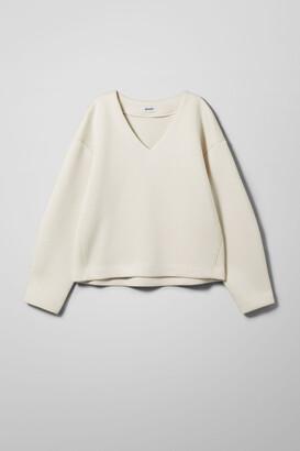 Weekday Lizz Sweatshirt - Black