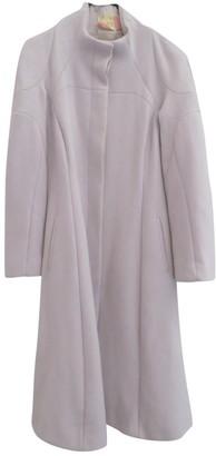 Celine Ecru Wool Coat for Women Vintage