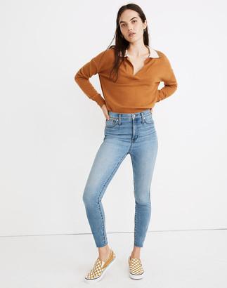 "Madewell Tall 10"" High-Rise Skinny Jeans in Highview Wash: Raw-Hem Edition"
