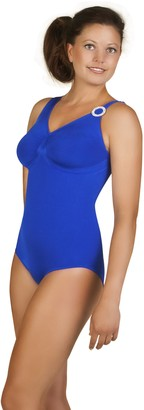 Belly Cloud bellycloud Women's Swimsuit - Blue - Blau (royalblau) - 14 (Brand size: L)