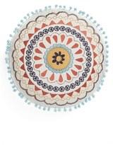 Levtex Embroidered Round Pillow