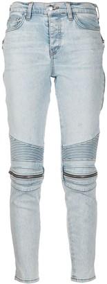 Amiri Zip Detail Biker Jeans