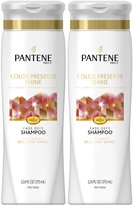 Pantene Colored Hair Color Preserve Shine Shampoo - 12.6 oz - 2 pk