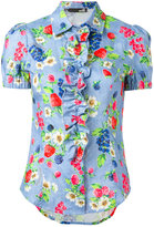 Love Moschino floral print shirt - women - Cotton - 40