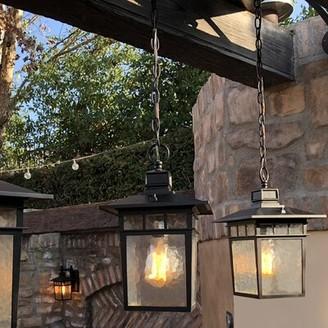 Bloomsbury Market Sherly 1-Light Outdoor Hanging Lantern