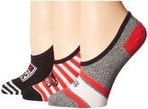 Vans Spirit Canoodles 3-Pack Women's Crew Cut Socks Shoes