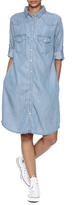 KUT from the Kloth Chambray Shirtdress