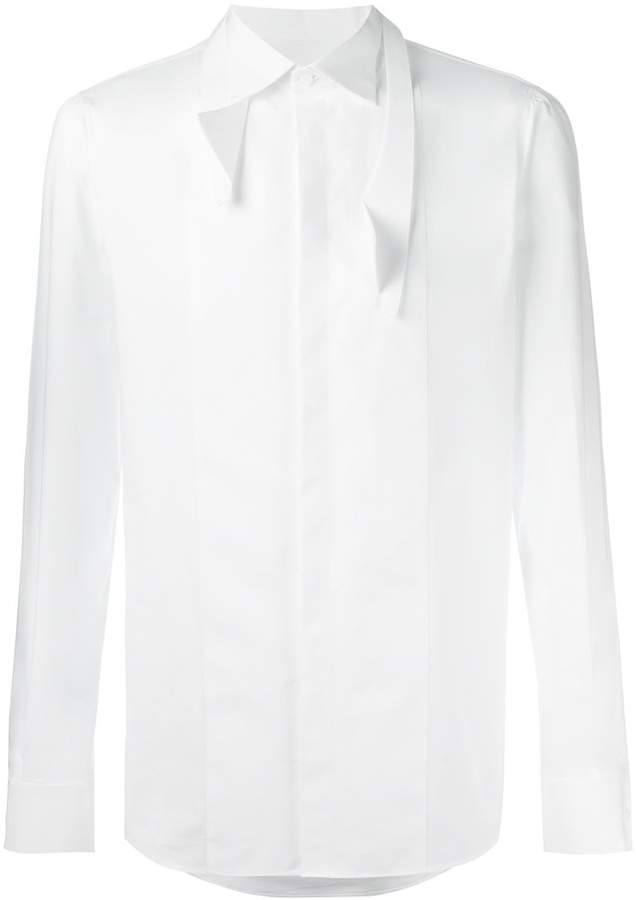 DSQUARED2 angular pointed collar shirt