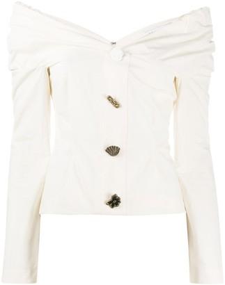 REJINA PYO Miriam off-shoulder blouse