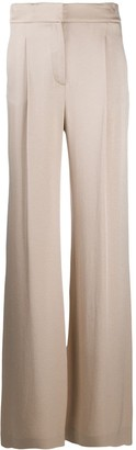 Veronica Beard Wide Leg Tailored Trousers