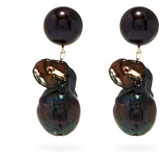 Sophie Buhai Essential Black Pearl & Sterling-silver Earrings - Pearl