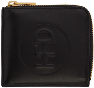 Honey Fucking Dijon Black Small Leather Wallet