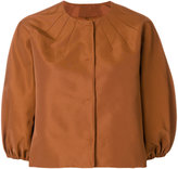 RED Valentino cropped puffed sleeve jacket