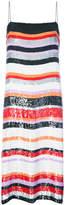 Jeffrey Dodd striped sequin dress