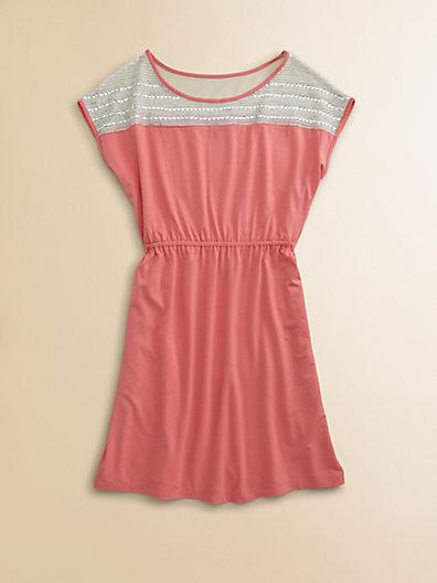 Sally Miller Girl's Power Mesh Dress