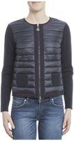 Moncler Blue Polyamid Coat