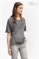 French Connection Esme Ribbon Embellished T-Shirt