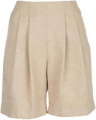 Wood Wood Birgit pleated shorts
