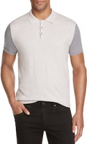 ATM Anthony Thomas Melillo ATM Color Block Slim Fit Polo Sweater