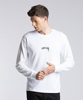 Stussy Stock Embroidered Long Sleeve T-Shirt