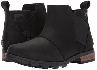 Sorel Emelie Chelsea (Black) Women's Waterproof Boots